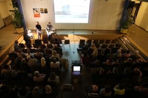 Vortrag über das Filmstudio in Sandweier 2014