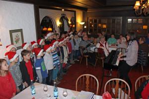 Chor der Grundschule Sandweier 2014