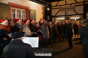 SingPhonie beim Nikolaus 2014